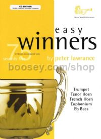 Easy Winners for Trumpet, Horn, Euphonium & Eb Bass (+ CD)