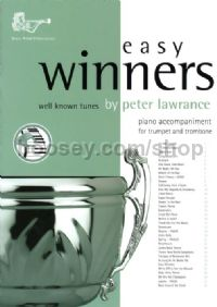 Easy Winners for Trumpet, Horn, Euphonium & Eb Bass (Piano Accompaniment)