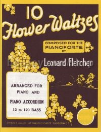 Ten Flower Waltzes piano solo