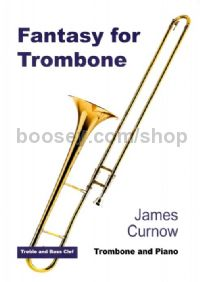 Fantasy for Trombone & Piano (treble/bass clef)