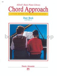 Alfred Basic Piano Chord Approach Duet Book 1