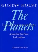The Planets for 2 pianos