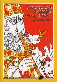 Wizard's Way Recorder Colouring Tutor Book 1
