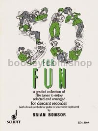 50 for Fun for descant recorder