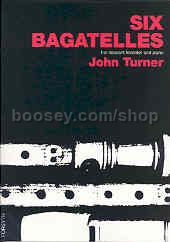 6 Bagatelles for descant recorder & piano