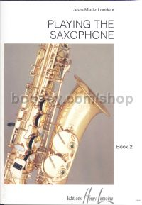 Playing The Saxophone 2
