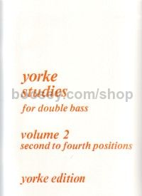 Yorke Studies for Double Bass, Vol. 2