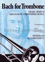 Bach for Trombone (treble clef)