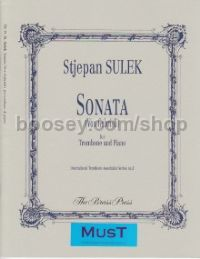 Sonata (Vox Gabrieli) for Trombone & Piano (bass clef)