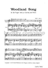 Woodland Song for Flugelhorn or Cornet and Piano