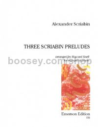 Three Preludes trumpet & piano