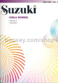 Suzuki Viola School Vol.4 Viola Part