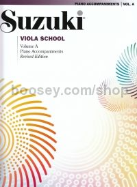 Suzuki Viola School Vol. A Piano Accompaniment