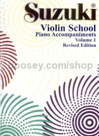 Suzuki Violin School, Vol. 1 - Piano Accompaniment