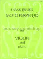 Moto Perpetuo for Violin and Piano