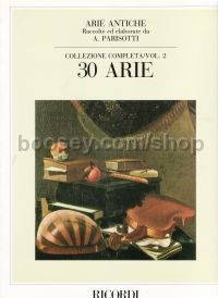 Arie Antiche vol.2 (30 Airs) for Voice & Piano