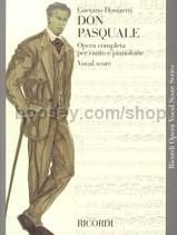 Don Pasquale (Mixed Voices & Piano)