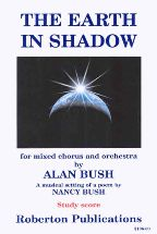 Earth in Shadow for mixed voice chorus & orchestra (study score)