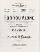 For You Alone In F