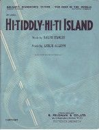 Hi Tiddly Hi Ti Island (Piano, Vocal, Guitar)