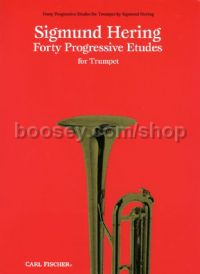 40 Progressive Etudes for Trumpet or Cornet (+ CD)