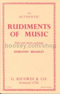 Rudiments of Music (Book)