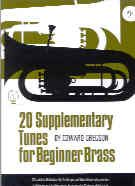 20 Supplementary Tunes for Beginner Brass (Bass Clef)