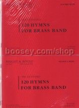 120 Hymns For Brass Band - Extended Version (Full Score & Parts)