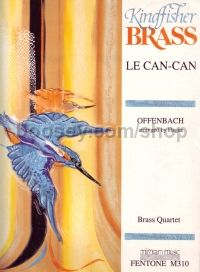 Le Can Can For Brass Quartet