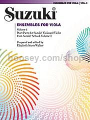 Suzuki Ensembles For Viola Vol.1