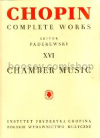 Comp Works 16 Chamber Music
