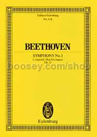 Symphony No.1 in C Major, Op.21 (Orchestra) (Study Score)