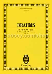 Symphony No.4 in E Minor, Op.98 (Orchestra) (Study Score)