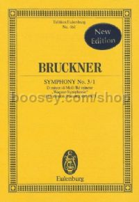 Symphony No.3/1 in D Minor (Orchestra) (Study Score)