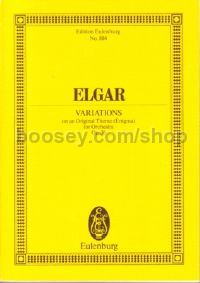 Enigma Variations, Op.36 (Orchestra) (Study Score)
