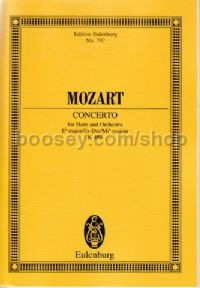 Concerto for Horn No.4 in Eb Major, K 495 (Horn & Orchestra) (Study Score)