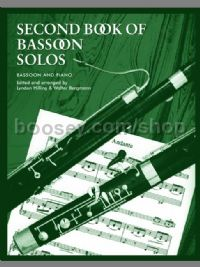 Second Book of Bassoon Solos (Bassoon & Piano)