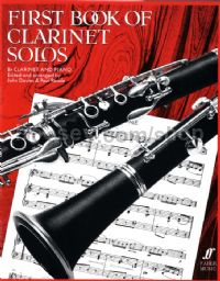 First Book of Clarinet Solos (Clarinet & Piano)