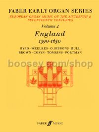 Faber Early Organ Series Vol.II: England 1590-1650