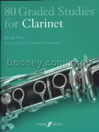 80 Graded Studies for Clarinet Book II