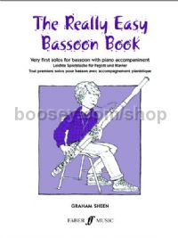 The Really Easy Bassoon Book (Bassoon & Piano)