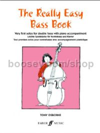 The Really Easy Bass Book (Double Bass & Piano)