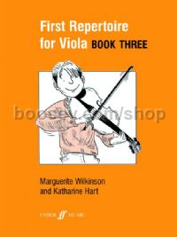 First Repertoire for Viola, Book III (Viola & Piano)