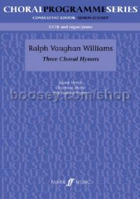 Three Choral Hymns (SATB & Piano)