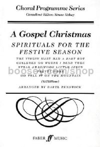 A Gospel Christmas (SATB & Piano)