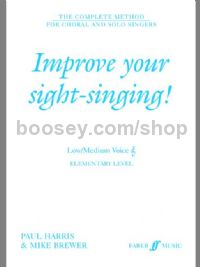 Improve Your Sight-Singing! - Elementary Low/Medium Voice