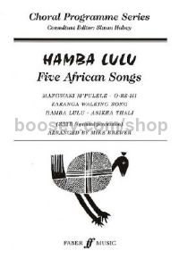 Hamba Lulu (SATB, Piano & Percussion)