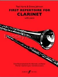 First Repertoire for Clarinet (Clarinet & Piano)