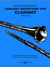 Concert Repertoire for Clarinet (Clarinet & Piano)