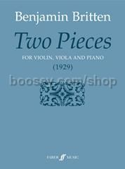 Two Pieces for Violin, Viola & Piano